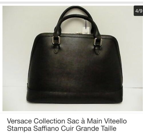 Sac Main Saffiano Collection Versace À Stampa Viteello pOa6q8Bp