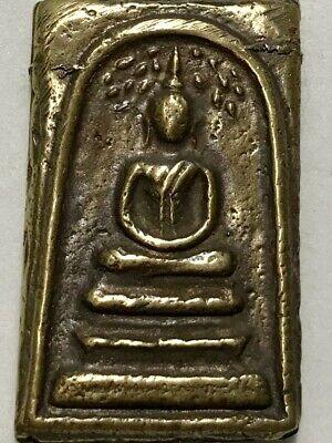PHRA NGOBNAMAOY LP RARE OLD THAI BUDDHA AMULET PENDANT MAGIC ANCIENT IDOL#2