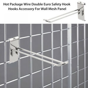 Grid-Wall-Mesh-Euro-Prong-Hook-Arm-Shop-Gridwall-Display-Home-Accessory-Hooks-O
