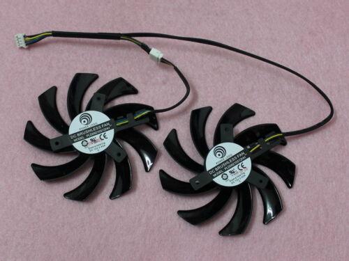 85mm Sapphire AMD Radeon R9 270X 280 280X Dual-X Fan Replacement 12V 0.40A R161b