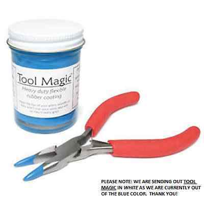 Tool Magic Rubber Plier Coating Protector Flexible Protects Wire Beads and Parts