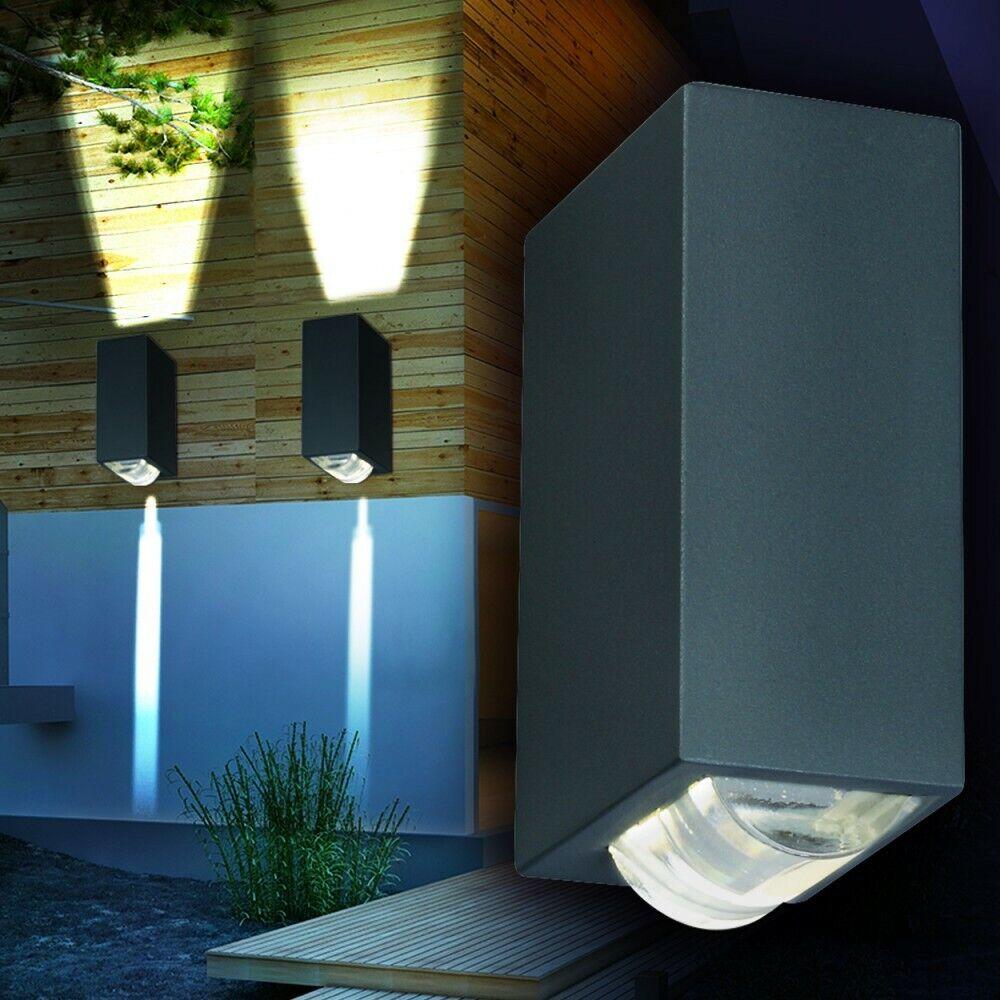 LED Außenwandleuchte Aluminium Wandleuchte Außen Leuchte Wand Lampen Up and Down