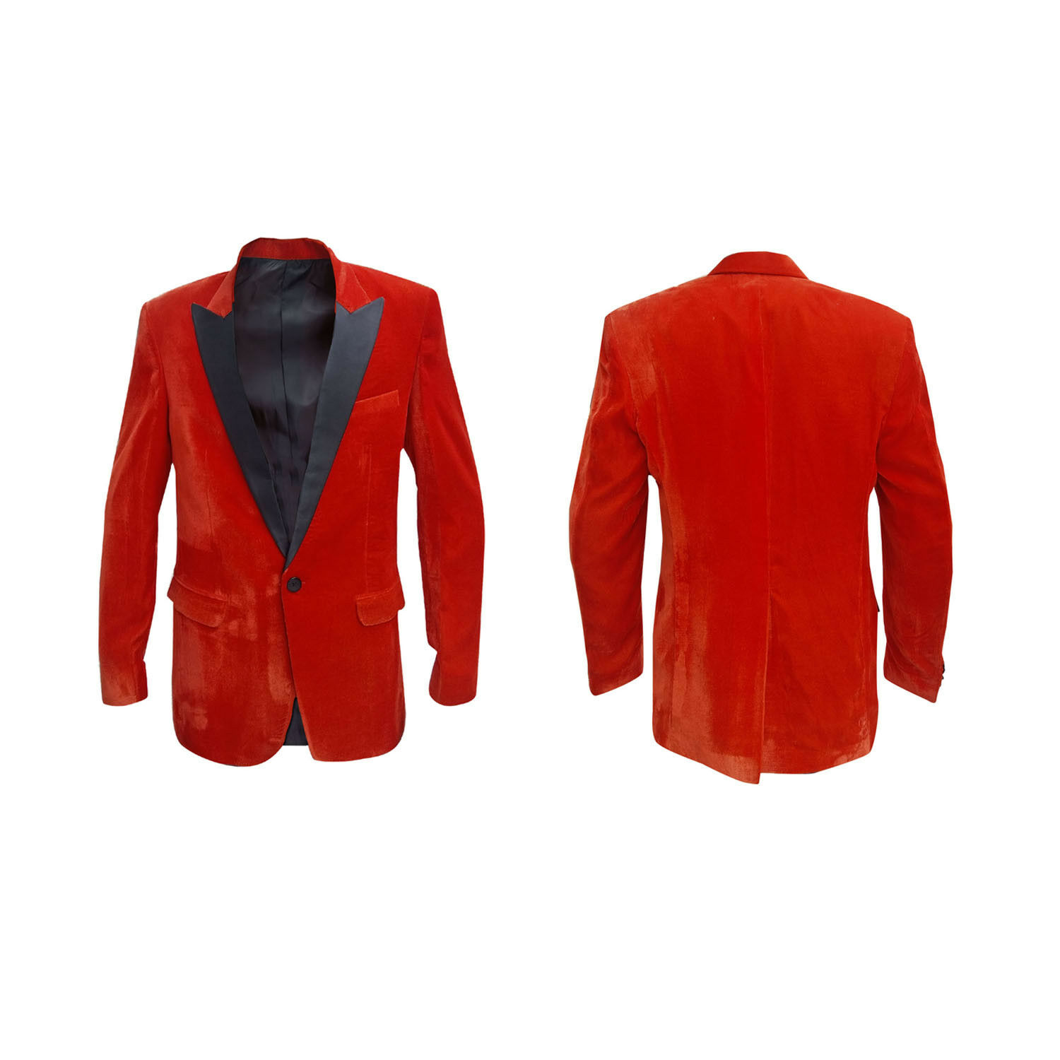 Kings man 2 The golden Circle Tuxedo Coat orange   All Sizes