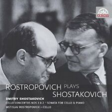 Mstislav Rostropovic - Rostropovich Plays Shostakovich [New CD]