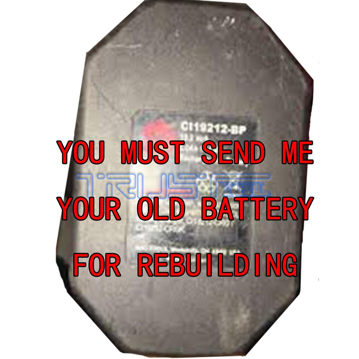 Re-build service for MAC TOOL 19.2 VOLT BATTERY CI19212-BP NI-MH  3.0