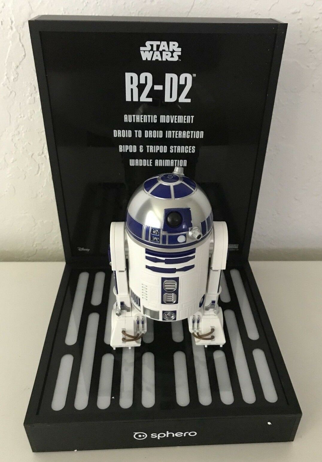 RARE Star Wars Sphero Sphero Sphero Toy Store Display R2D2 757868