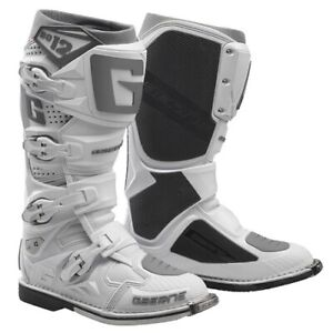 Dettagli su Stivali Moto GAERNE SG 12 BIANCO 2174 074 taglia 43