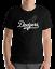 Los-Angeles-Dodgers-black-T-Shirt-Graphic-Cotton-Adult-white-Logo-Jersey-LA-LAD thumbnail 1