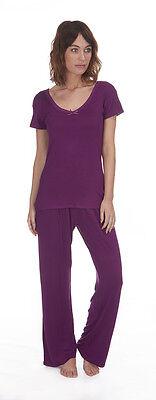 Womens Short Sleeve Pyjamas Ladies Summer Pj Set New Nightwear Size UK 8 - 22
