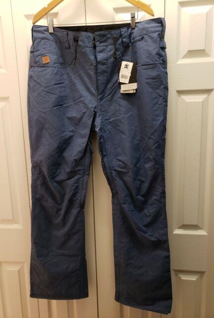 DC Shoes Mens Dc Mens Relay 15k Water Proof Denim Jean Style 5 Pocket Snowboard Pants