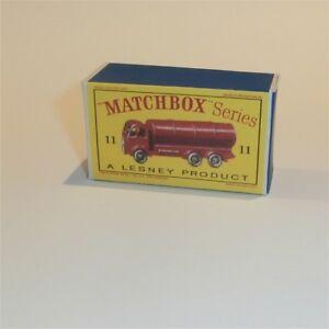 Repro Box Matchbox 1:75 Nr.11 Road Tanker Auto- & Verkehrsmodelle