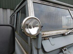 LAND-Rover-Serie-1-2-2A-3-5-034-Acciaio-Inossidabile-worklights-spotlamps-MAXTEL-COPPIA