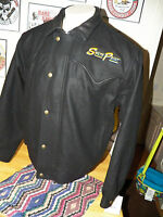NWT SCHAEFER South Point Black WESTERN Cowboy MEN'S Coat Jacket SIZE LARGE