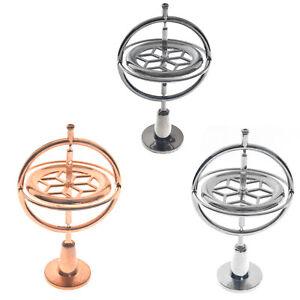 Metall-Gyroskop-Spinner-Gyro-Wissenschaft-paedagogisches-Lernen-Balance-Spielzeug