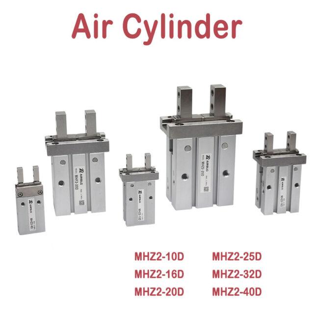 SMC MHZ2-10D/16D/20D/25D/32D/40D Air Gripper Pneumatic Cylinder Part Finger New