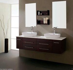 Image Is Loading Bathroom Vanity Modern Set Double Sink