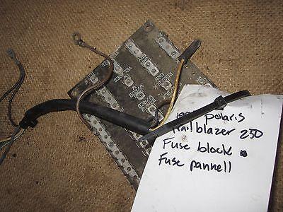 Polaris Trail Blazer 250 1996 Board terminal / fuse block / fuse panel    eBayeBay