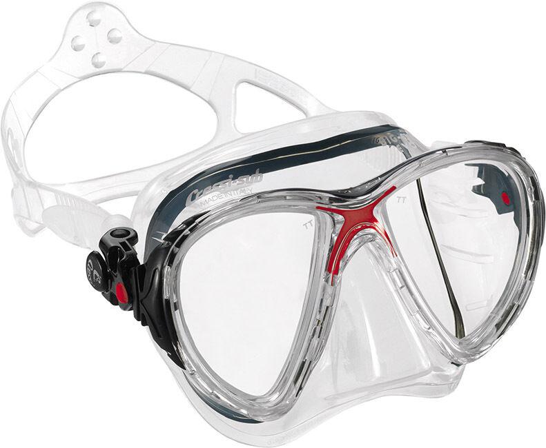 Big Eyes Evo rot rot Tauchmaske von Cressi Sub mit mit mit schmalem Rahmen ec2d38