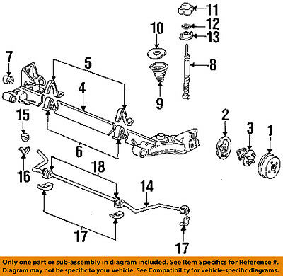 General Motors 25861196 Suspension Stabilizer Bar