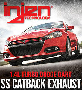 Dodge Dart Turbo >> Details About Injen 3 Stainless Steel Cat Back Exhaust For 2013 2014 Dodge Dart Turbo 1 4t