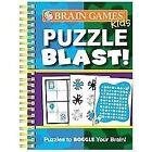 Brain Games Kids Puzzle Blast (2011, Spiral)