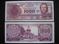 PARAGUAY  1000 Guaraníes 2002 Commemorative Issue  (P221)  UNC