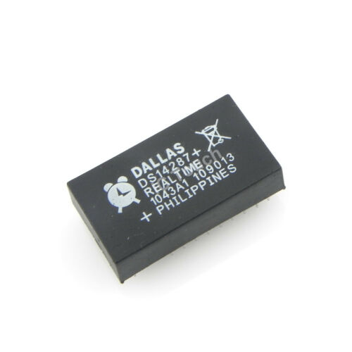 50pcs DS14287 IC Real-Time Clock with NV RAM Dallas Semiconductor IC 20-Pin