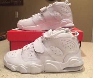 a234fa84fb1cf3 Nike Air CB 34 Charles Barkley - Triple White 316940-100 Size 9.5 10 ...