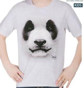 e5b371ff6d87 Chinese Panda T-Shirt Tie Dye Tee Big Face 3D Panda Art Tshirt ...