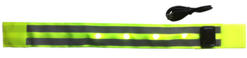 Brassard Large à leds automatique LEDream USB solaire