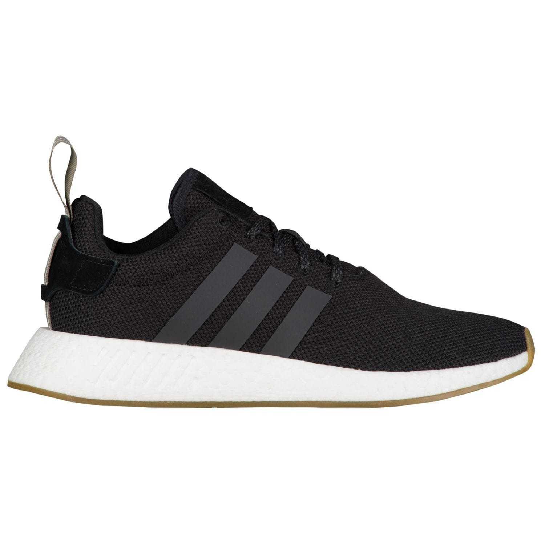 adidas Originals Men's NMD_R2 Sneaker, Black/Utility Black/Trace Cargo