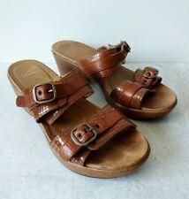 Dansko Womens Sable Wedge Sandal 39 M