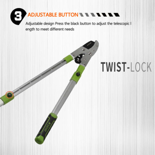 """Extendable Anvil Razor-Edge Pruning Lopper BEST 28~40 inch 2/"""" Cutting Capacity"""