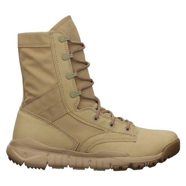 55b0cd5959e Nike SFB Special Field BOOTS Military Tactical British Khaki Desert Combat  US 13