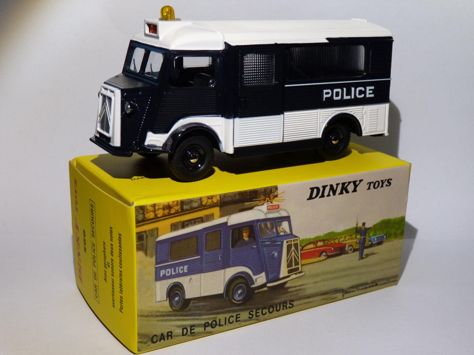 Citroen HY A causa delle Polizia scorta - réf 566 au 1/43 di dinky toys atlas