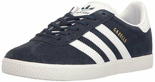a8f68bb8988686 adidas Originals Gazelle J Collegiate Navy Suede Youth Trainers Shoes 6 US  Big Kid for sale online