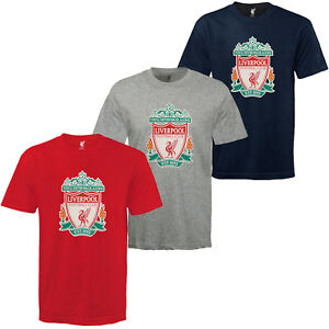 d920f83abf2 Image is loading Liverpool-FC-Official-Football-Gift-Kids-Crest-T-