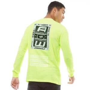 Détails sur Adidas Originaux X Alexander Wang Hommes Bleach T Shirt Manches Longues CV5051 M