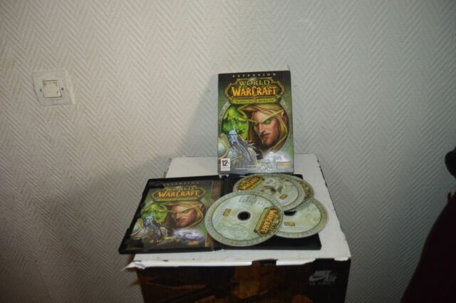JEU EXTENSION PC/MAC CD ROM WORLD OF WARCRAFT BURNING CRUSADE GAME BLIZZARD WOW
