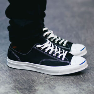 c01db9849068 Image is loading Converse-Jack-Purcell-Signature-Ox-Black-White-Low-