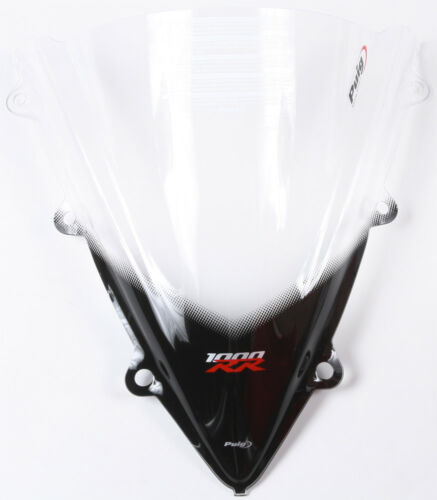 Clear Racing Windscreen For CBR1000RR Puig 5994W For 12-16 Honda CBR1000RR