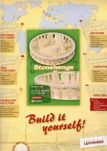 Stonehenge-Landmark-Paper-Model-Kit-Build-it-Yourself