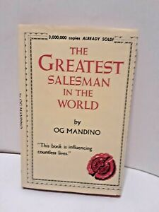 The Greatest Salesman in the World by Og Mandino-  1968 SIGNED  (HARDCOVER BOOK)