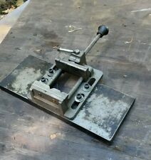 Craftsman Quick Slide Drill Press Vise 4 Jaw Quick Release With Bench Plate