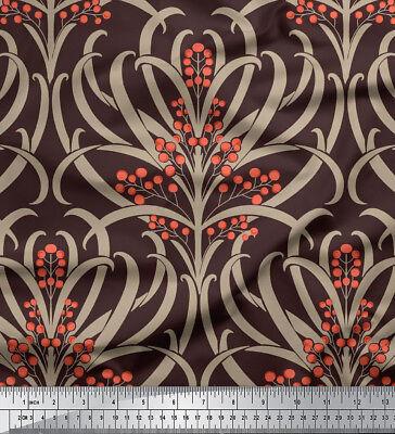 """Blumen 58/"""" wide Handwerk Nähen Baumwollgewebe Material durch das Messgerät"""