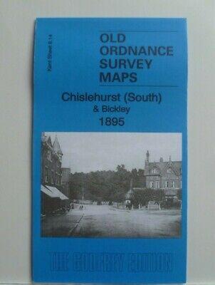 OLD ORDNANCE SURVEY MAPS CROYDON NW 1895