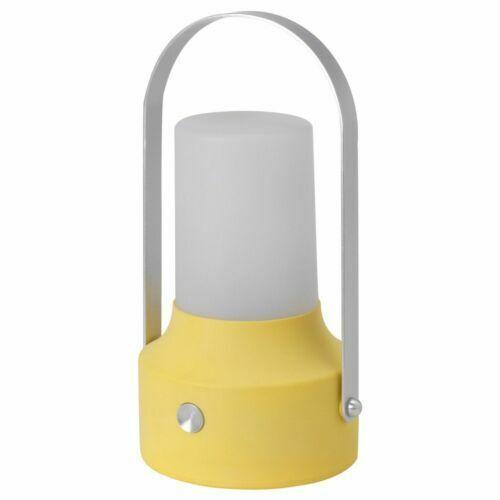 Led Solar Ed Lantern Yellow Outdoor 603 832 08 Ikea Solvinden