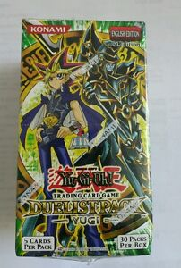 Yugioh first edition duelist pack yugi english booster box 1st.