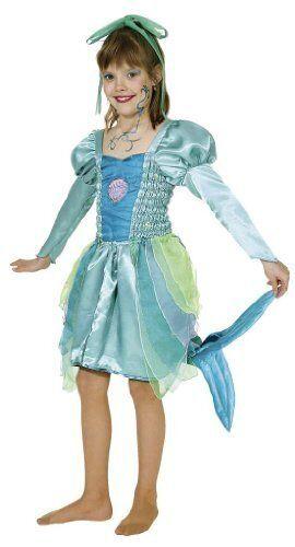 Kinder Kostüm Meerjungfrau Nixe zu Karneval Fasching Orl