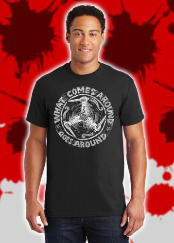 What Comes Around Goes Around Karma Revenge Norse Viking Vikings Shirt NFT081